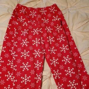Set of 2 No Boundaries S snowflake leggings